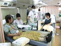 社内献血活動